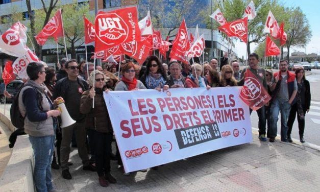 UGT desconvoca la huelga de limpieza en el Hospital Son Llàzter tras el pago de la nómina de mayo