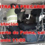 UGT anima a manifestarse en el aeropuerto de Palma contra los abusos laborales